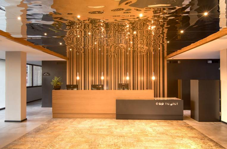 Empfangshalle Hotel Cap Negret Altea, Alicante