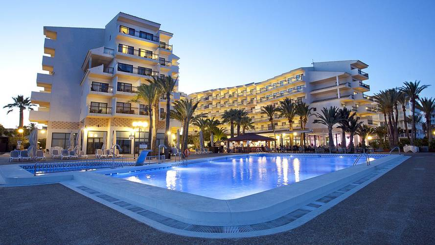 Draußen Hotel Cap Negret Altea, Alicante