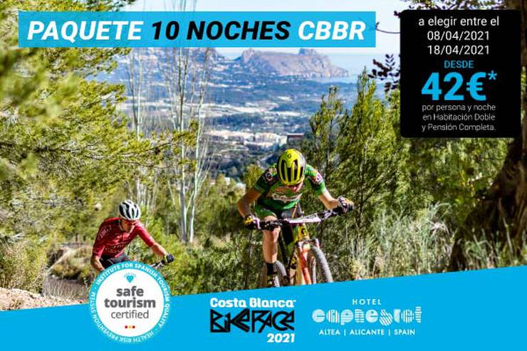 Costa blanca bike race 10 nights hotel cap negret altea, alicante