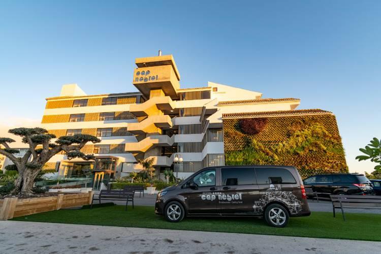 Fassade Hotel Cap Negret Altea, Alicante