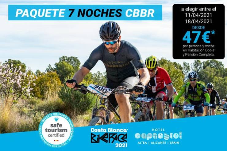 Costa blanca bike race 7 nights hotel cap negret altea, alicante