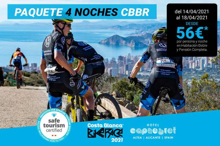 Costa blanca bike race 4 nights hotel cap negret altea, alicante