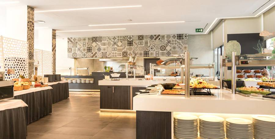 BUFFETRESTAURANT MIT SHOW-COOKING Hotel Cap Negret Altea, Alicante